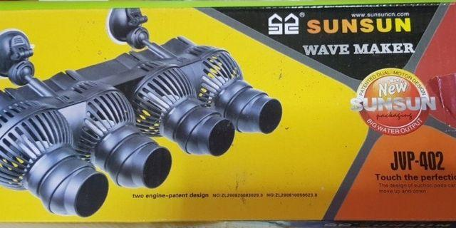SALES !!! BRAND NEW!!! 6ft fish tank WAVEMAKER !!! Sun sun JVP 402 4 head Wavemaker for fish tank !!! Clip on type!!! 24000litre !!!