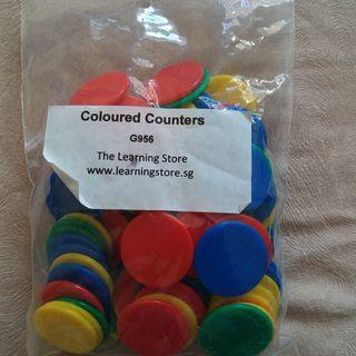 🚚 Coloured counters