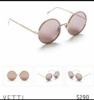 SUNDAY SOMEWHERE  Yetti sunglasses- Blush Metal