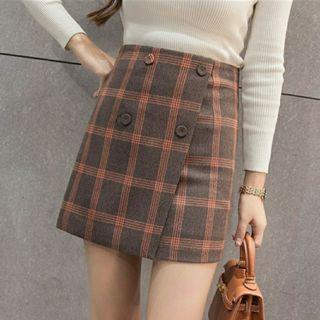 Instock Ulzzang Plaid Skirt #EndgameYourExcess