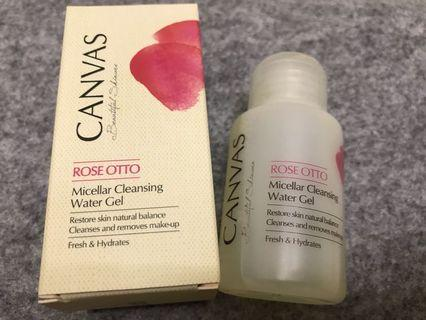 Canvas rose Otto nicellar cleaning water gel 50ml