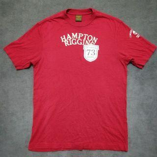 Timberland 綿t 短T shirt紅色 US男xs號