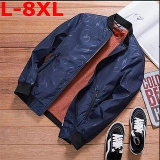 Jacket windbreaker jacket PLUS SIZE MEN
