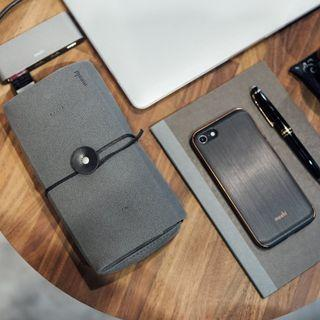 MOSHI 線材整理包 高質感 麂皮 方便攜帶 文青 APPLE