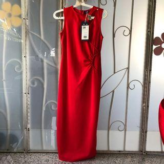 Yacht 21 Red Maxi Dress