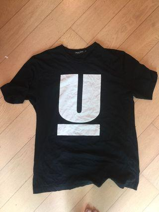 Undercover tee size XL 90%new $300