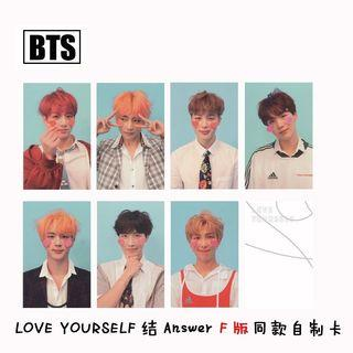 [WTS] Unofficial BTS Photocard (LY Her & LY Answer)