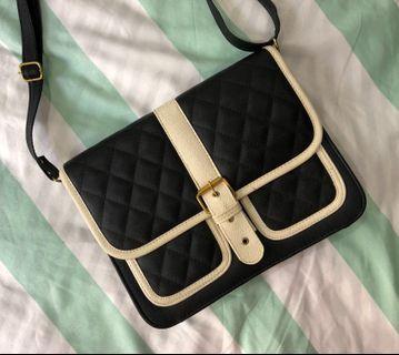 Brand New Quilt Sling Bag