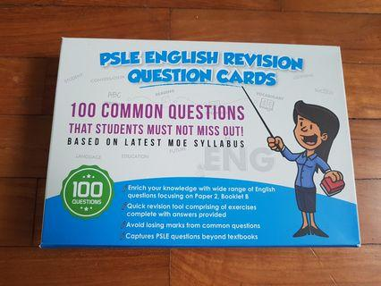 🚚 (New) PSLE English Revision Question Cards