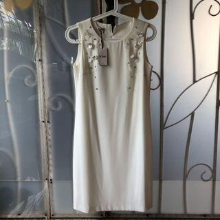 The Station White Dress