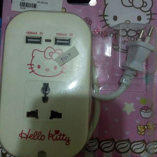 Kabel colokan listrik kitty