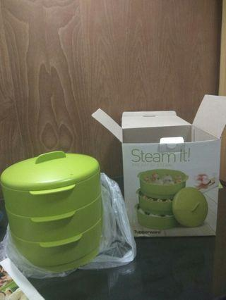 Tupperware steam it 3 layer