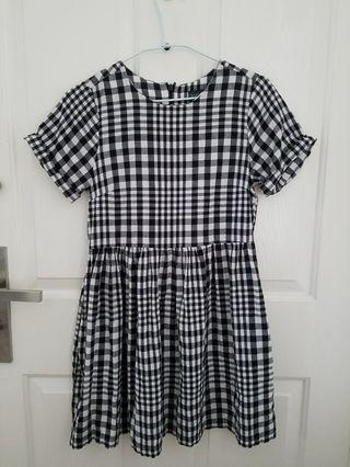 Topshop checks dress