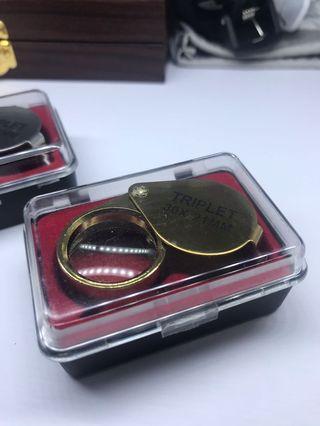 🚚 Triplet loupe Len 30x-21mm