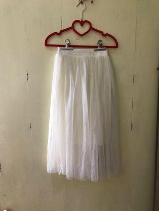 🚚 白色紗裙