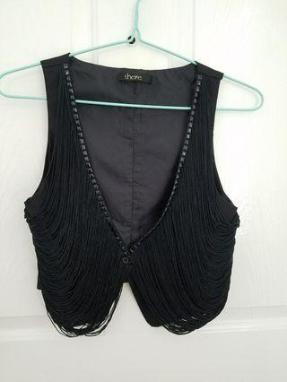 fringes waistcoat