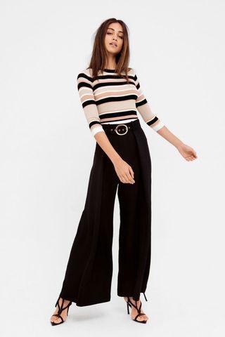 b5cc0f35620105 Sheike Varsity Pants Black Size 6