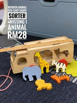 Animal Shape Sorter