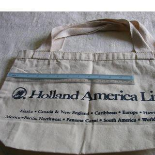 Holland America Cruise Canvas Tote Bag