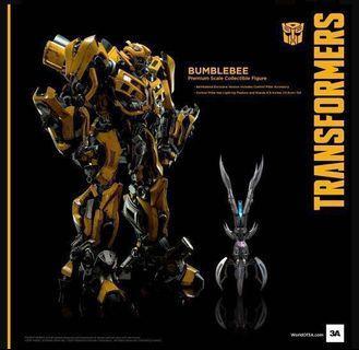 全新 變形金剛 Transformer 3A Bumblebee 網上特典版