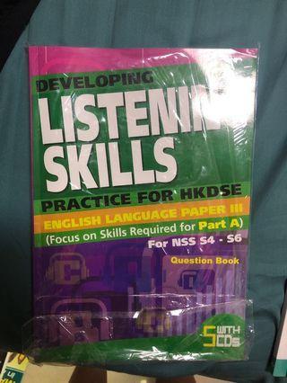 Developing listening skills hkdse paper 3
