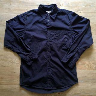 Lativ 深藍 襯衫