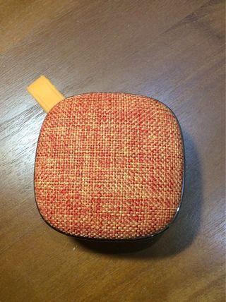 🚚 藍牙喇叭(攜帶型)時尚設計 不織布搭配質感矽膠,超質感wireless Bluetooth audio