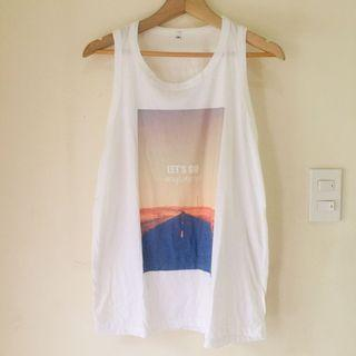 New! Instagram Travel Inspired Muscle Tee