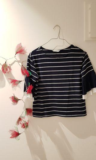 Sailor-patterned Top