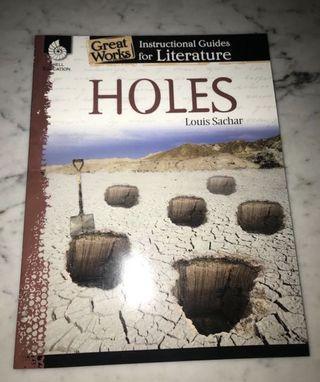 🚚 Holes literature guides #ENDGAMEyourexcess