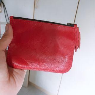 Leather Pouch Purse Bag