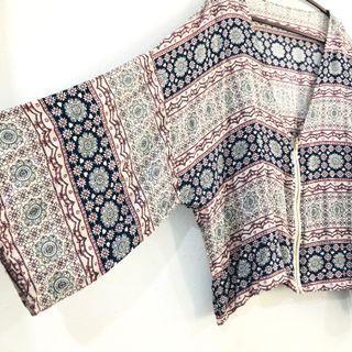 Kimono outerwear cardigan