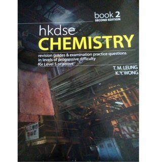 Book 2+3 total $150 送mock Fillans DSE Chemistry Book 2 #newbieApr19