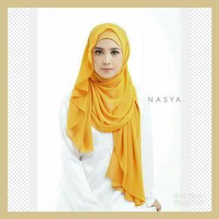 Nasya Instant Shawl Hijab Tudung Muslimah