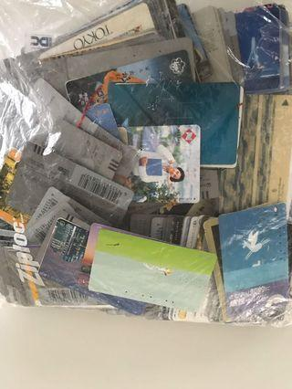 Telephone cards - 100% from Japan - ALL USED
