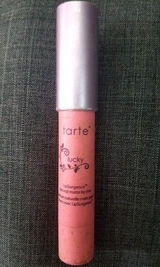 TARTE LipSurgence natural matte lip tint - LUCKY