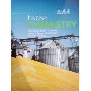 Book 2+3 total $150 送mock Fillans DSE Chemistry Book 3 #newbieApr19
