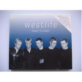 Westlife - Coast To Coast CD (港版) (Limited Edition 18曲) (附紙外盒 及 海報)