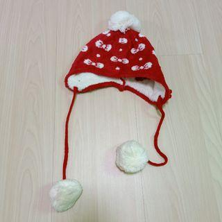 🚚 紅白毛帽