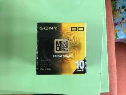 Sony MD prism gold
