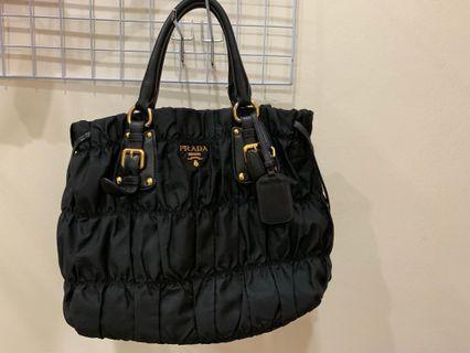 AUTHENTIC PRADA HAND BAG SLING BAG NEGO