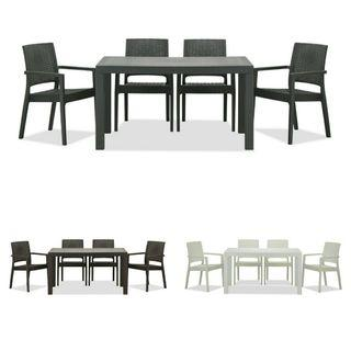 FREE DELIVERY 6+1 Outdoor Dining Set