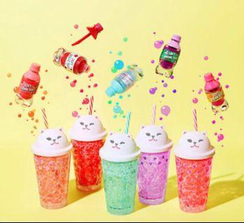 🚚 NEW! Etude House Sugar Bubble Jelly Cat Peach Tumbler with Straw #EndgameYourExcess