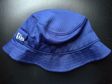 Topi New Era Bucket Hat Blue (Medium size)