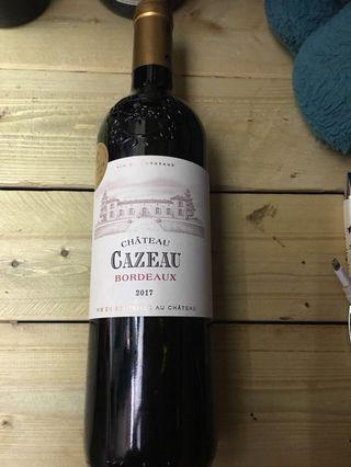 法國嘉和酒莊波爾多紅酒2017年 75cl 13%vol