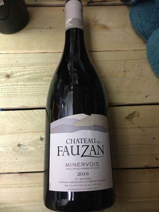 法國福贊酒庒紅酒2016年 75cl 14.5%vol