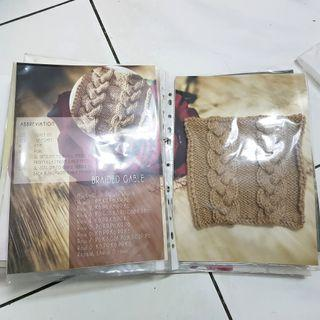 Knitting Basic Tutorial 1 set
