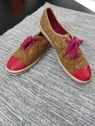 ff8238978f7a Keds X Kate Spade pink sneakers
