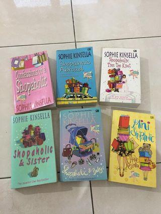 Novel shopaholics Sophie Kinsella