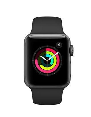 NEW Apple Watch Series 3 Space Gray (38mm)
